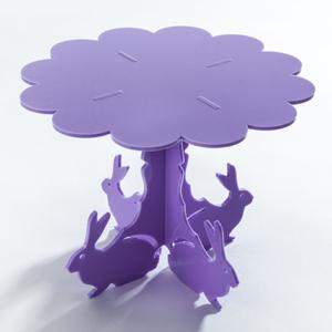 Bunny 'n Kin Cupcake Stand by Sandra Dillon Design SKU:CS004