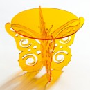 Flutter-by Butterfly Cake Stand in Amber