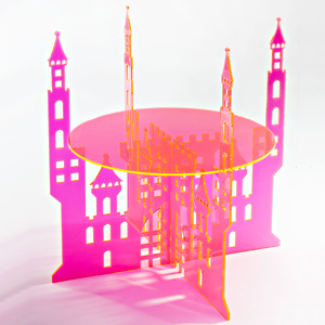 Rascal Castle Cake Stand by Sandra Dillon Design SKU:CS006