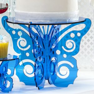 Flutter-by Butterfly Cake or Cupcake Stand by Sandra Dillon Design SKU:CS002