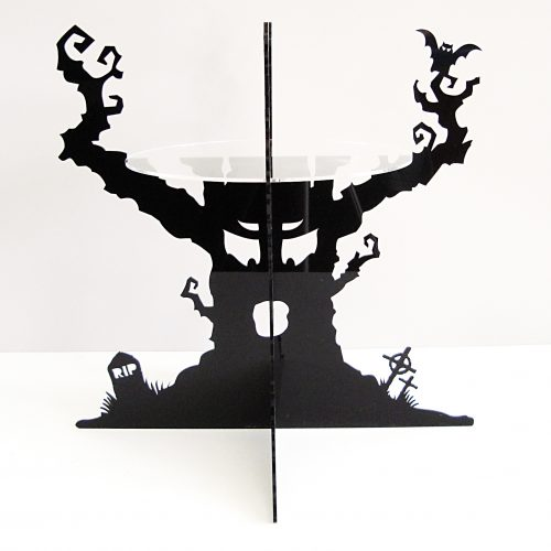 The Haunted Tree Cake Stand