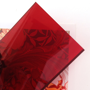 Sandra Dillon Design Colours Deep Red
