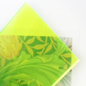 Sandra Dillon Design Colours Neon Lime Green
