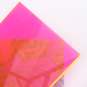 Sandra Dillon Design Colours Neon pink orange