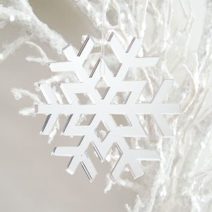Mirror-Snowflake-Ornament