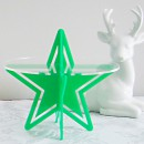 Starry Night Cupcake Stand Green by Sandra Dillon Design