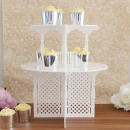2 Tier Garden Party Cupcake Stand