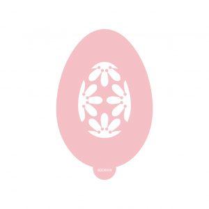 Blossom Easter Egg Stencil