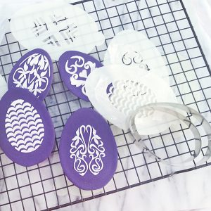 Easter Egg Stencil Suite