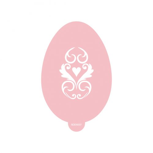 Heaven Easter Egg Stencil