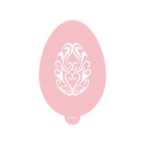 Pastelle Easter Egg Stencil