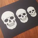 Skull Stencil Sandra Dillon Design