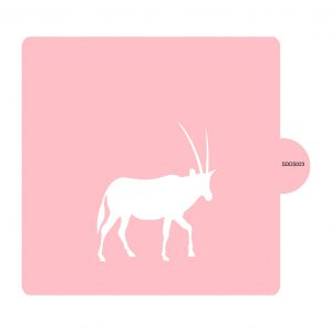 Antelope Stencil