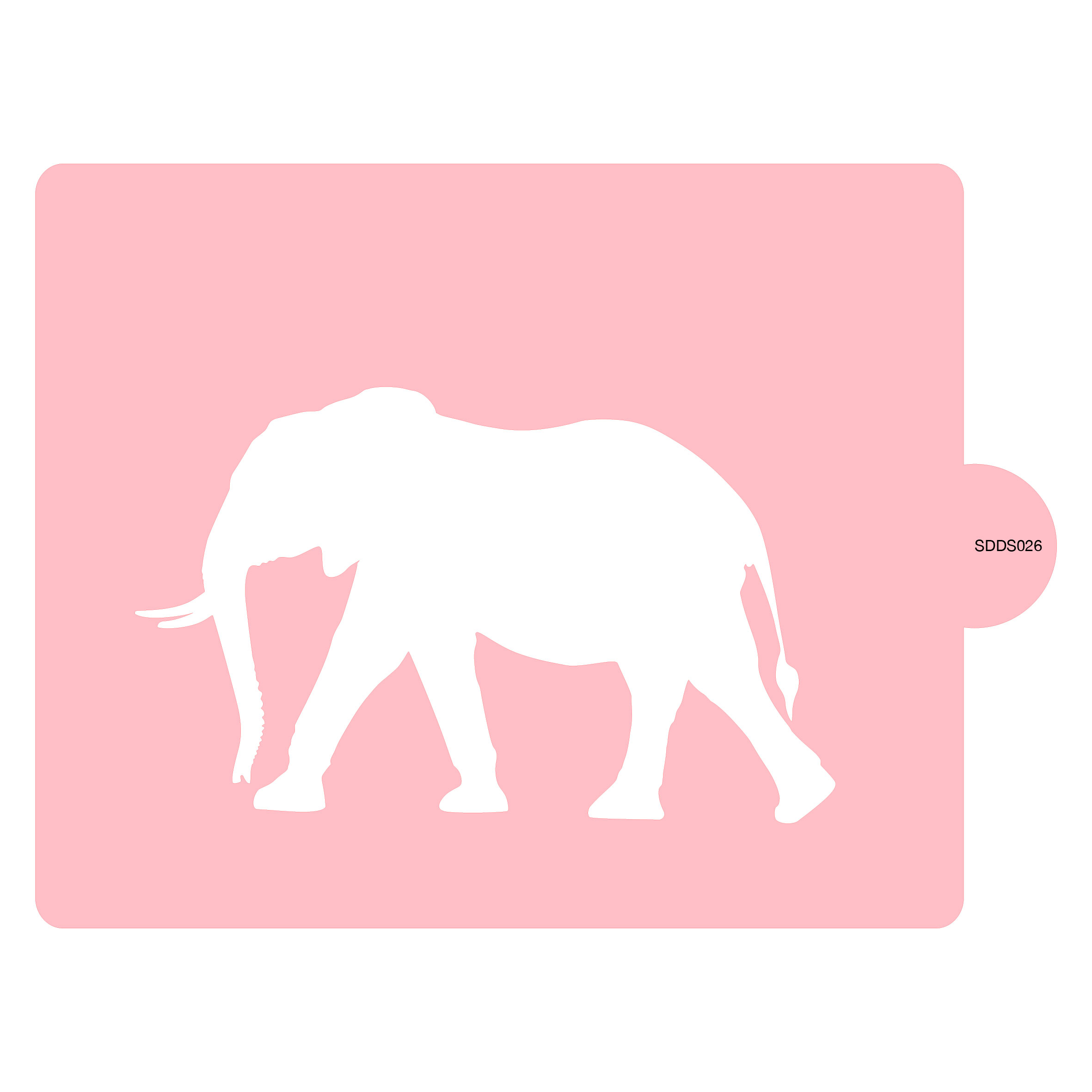 elephant stencil 1 sandra dillon design