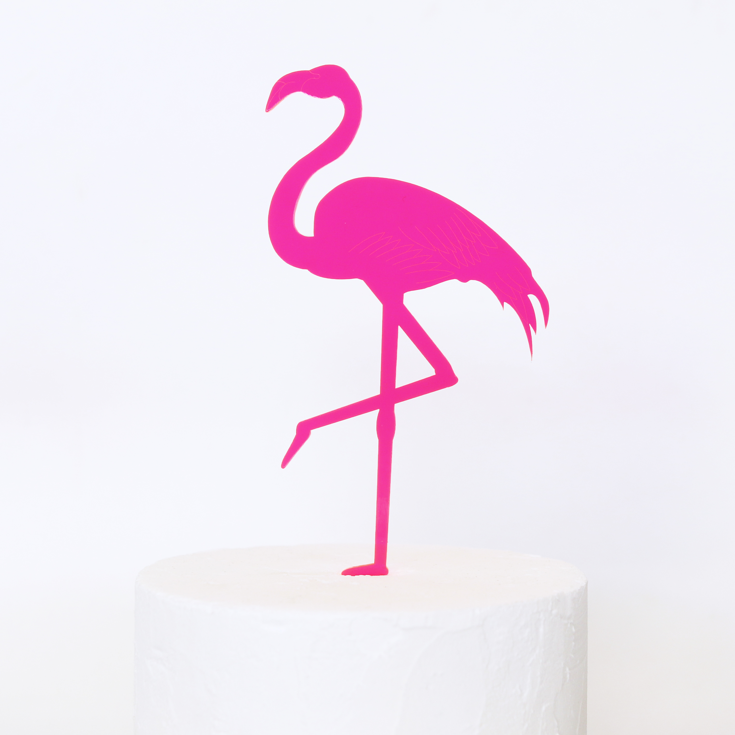 Flamingo Cake Topper Au