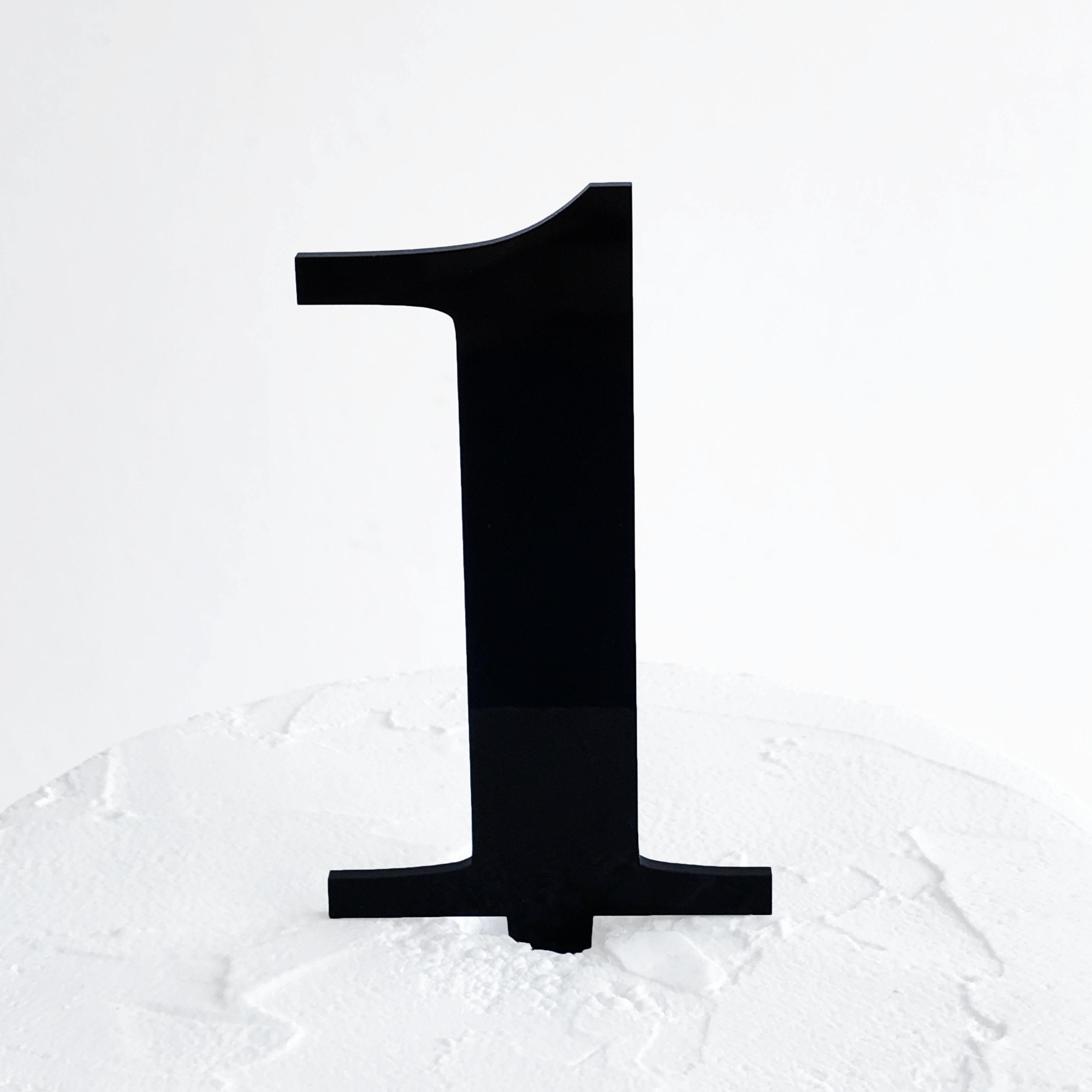Number 1 Cake Topper   SANDRA DILLON DESIGN