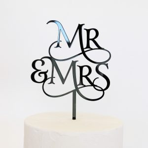 Magical Mr and Mrs Cake Topper