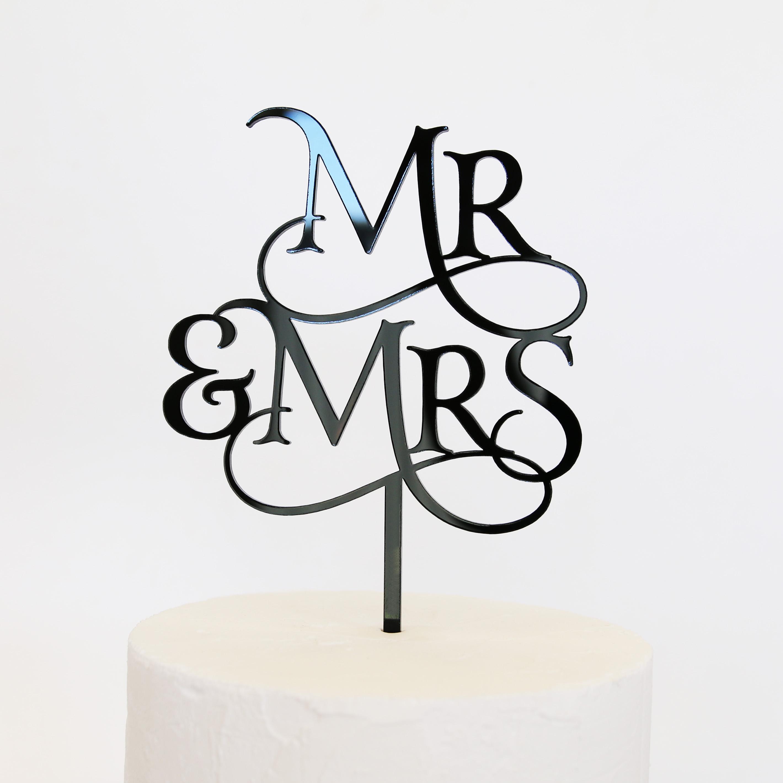 Magical Mr And Mrs Cake Topper Sandra Dillon Design
