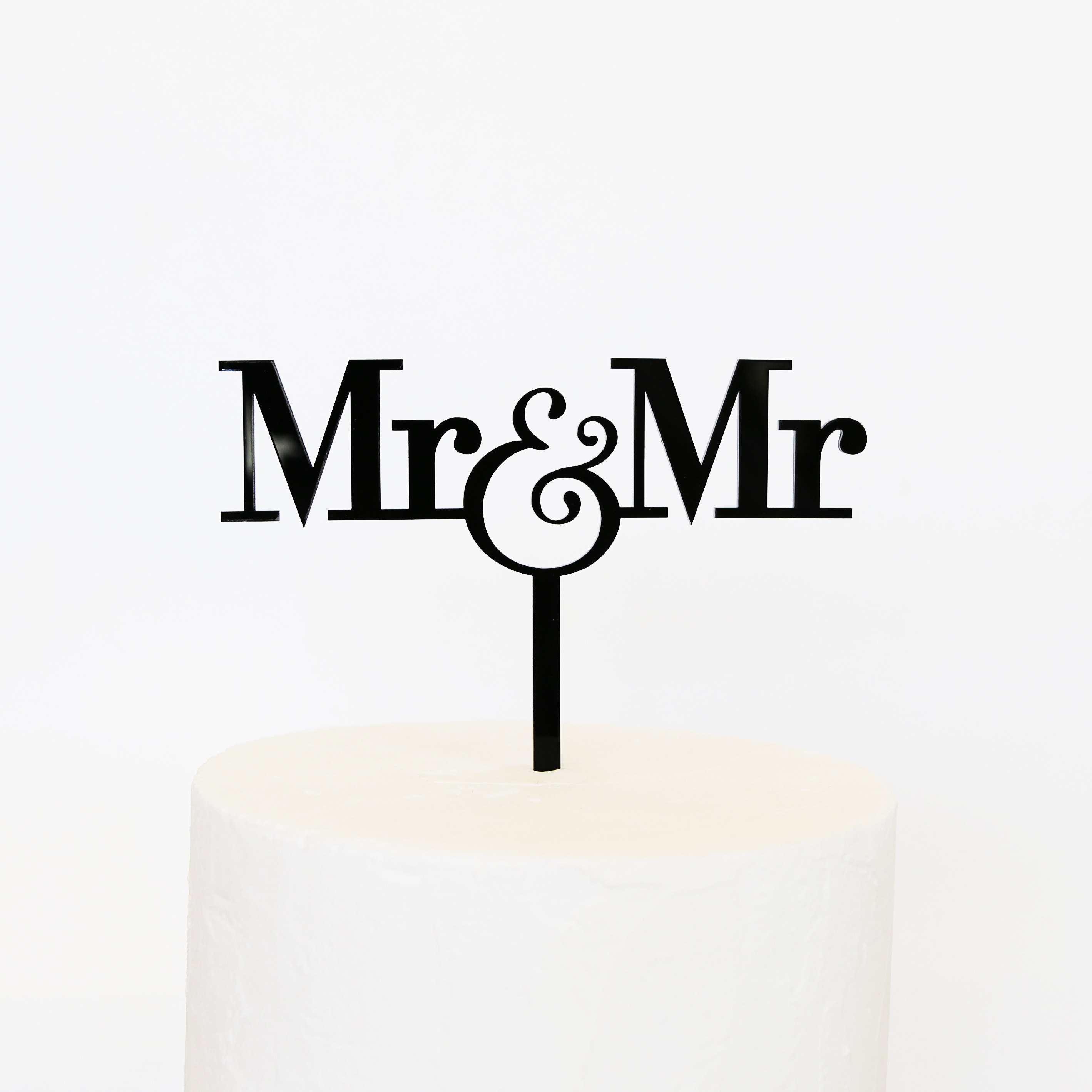 Mr And Mr Cake Topper Sandra Dillon Design