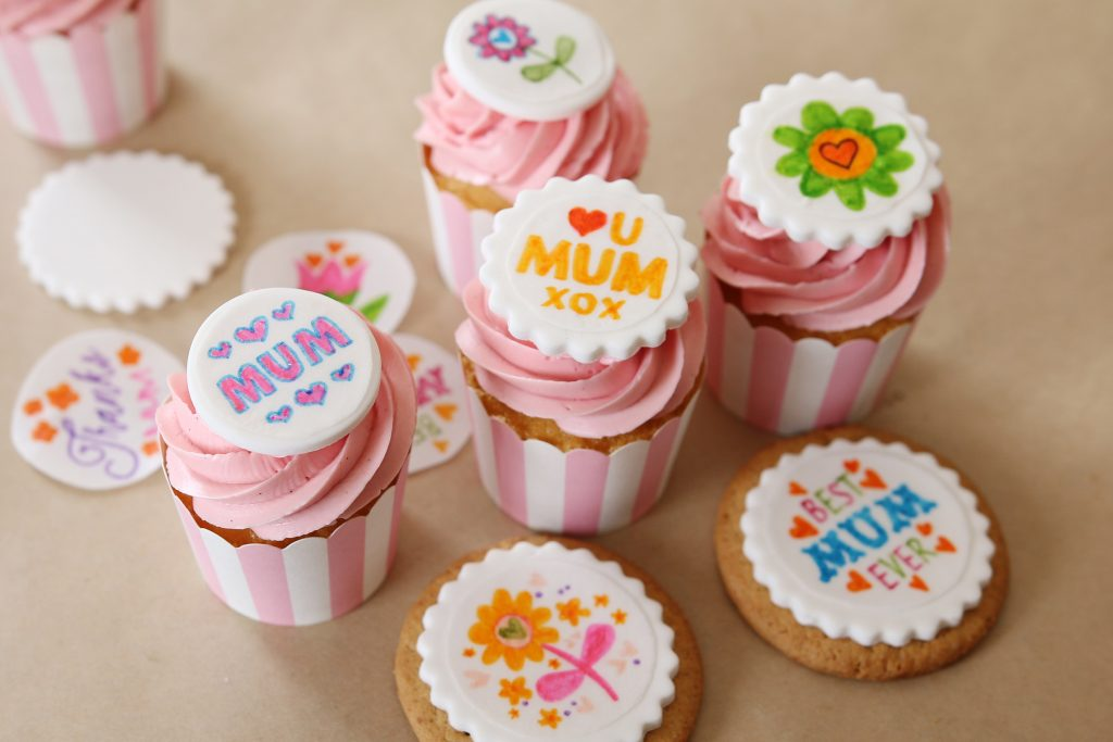 Diy Edible Cupcake Toppers