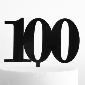 Classic-Number-Cake-Topper-100-Black-Sandra-Dillon-Design