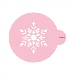 Classic Snowflake Cookie Stencil