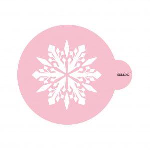 Ornate Snowflake Cookie Stencil