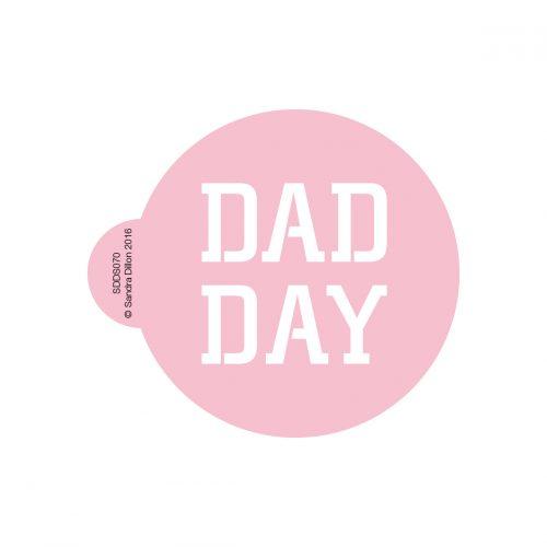 Dad Day Stencil