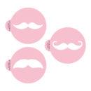 Moustache Stencil Set