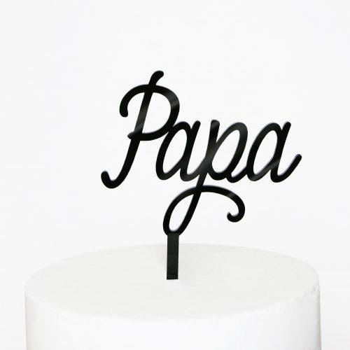 Papa Cake Topper