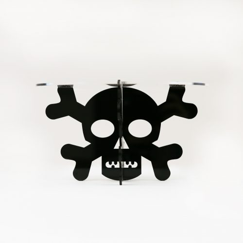Skull and Crossbones Cupcake Stand
