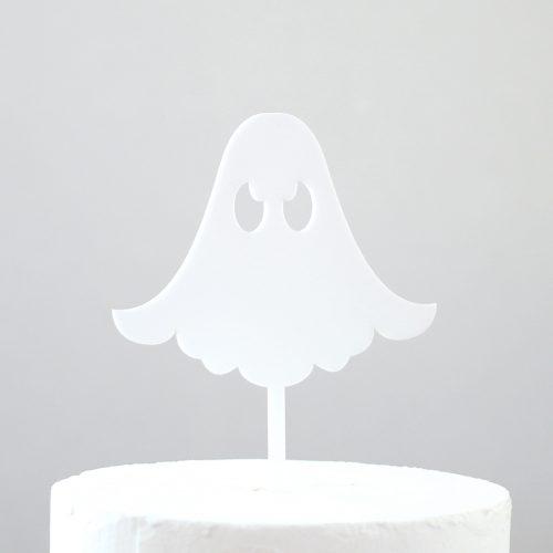 Cute Ghost Cake Topper