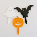 Halloween Trio Cupcake Toppers