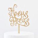 Hocus Pocus Cake Topper
