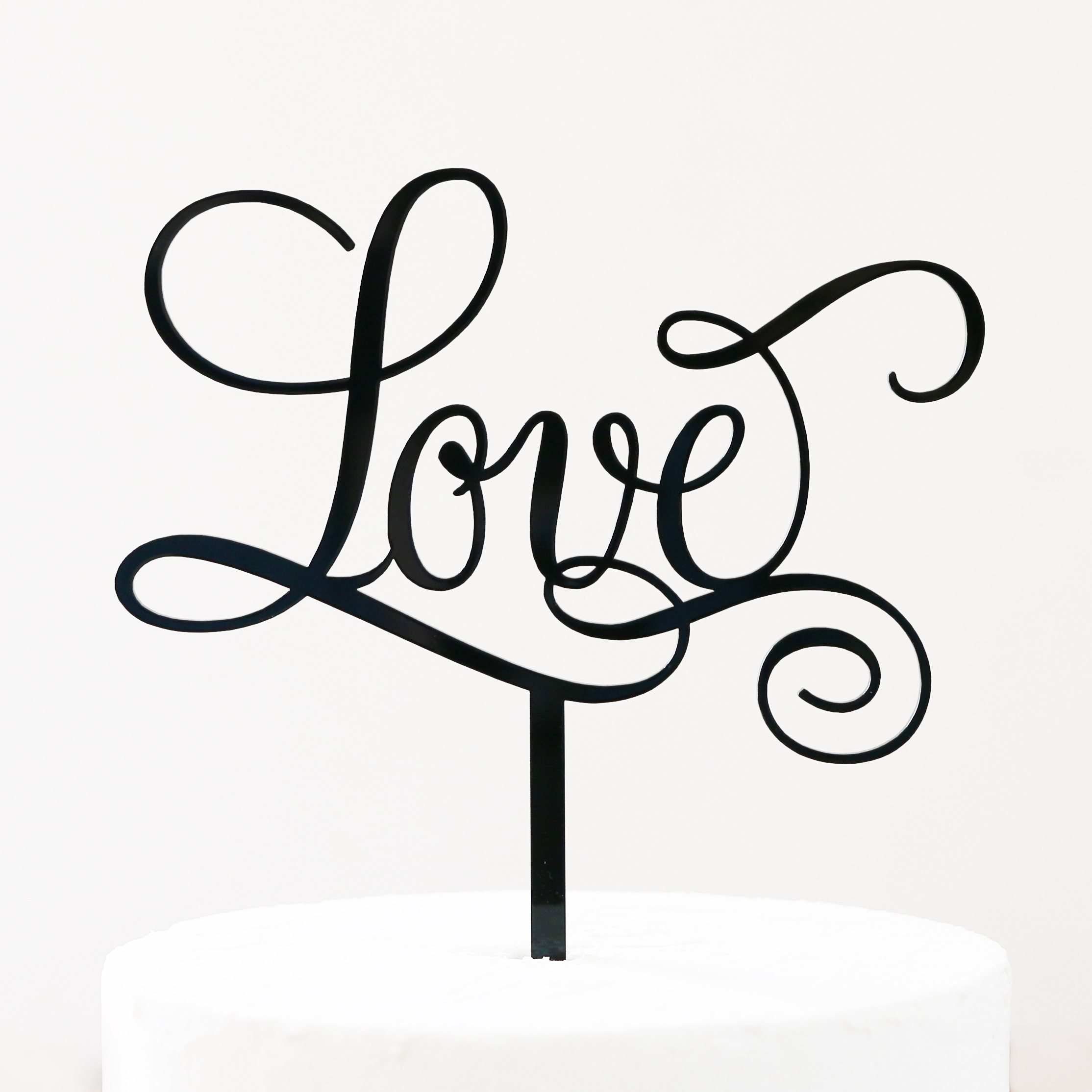 Love Cake Topper Sandra Dillon Design