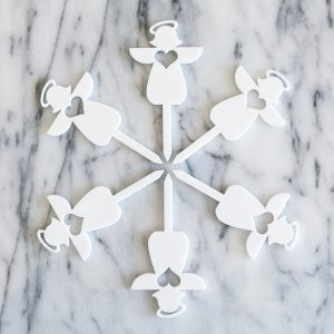 Angel Cupcake Topper Set