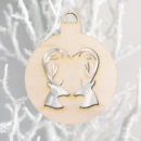 Oh Deer Christmas Ornament