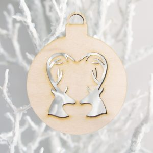 Oh Deer Christmas Ornament