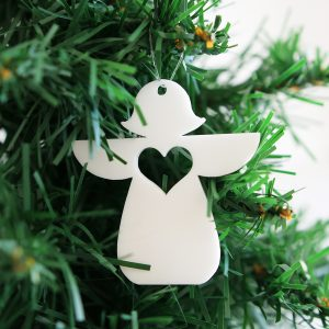 Tiny Angel Christmas Ornament