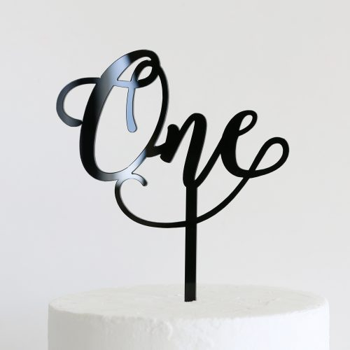 Wonderful One Cake Topper
