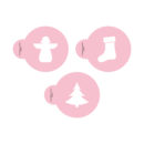 Christmas Icons Cookie Stencil Set