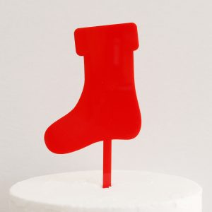 Stocking DIY Cake Topper