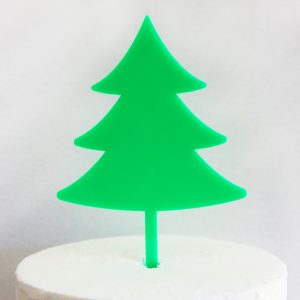 Christmas Tree DIY Cake Topper