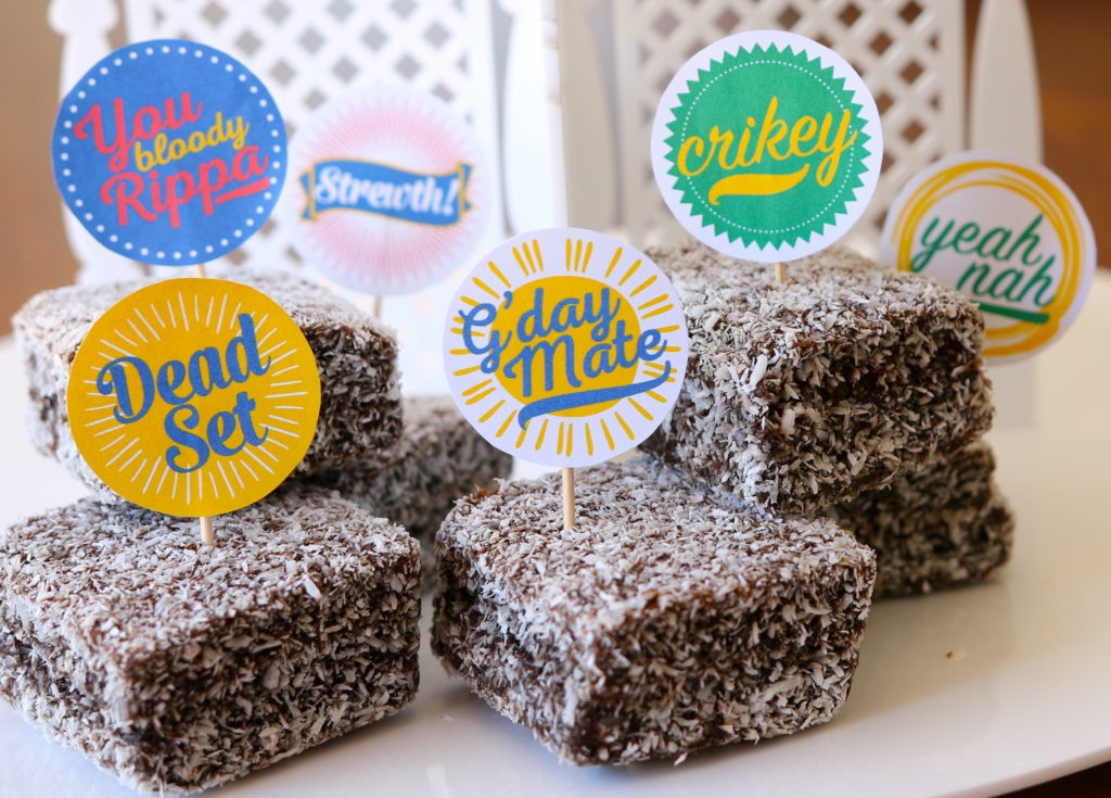 FREE Printable Lamington Toppers
