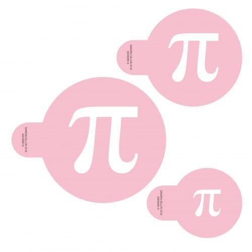 Pie Day Cookie Stencil Set