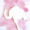 Baby Elephant DIY Cake Topper