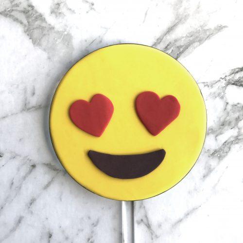 Circle DIY Cake Topper Emoji