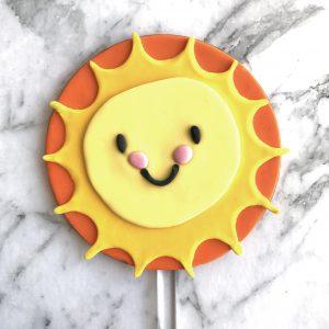 Circle DIY Cake Topper Sun