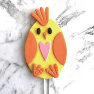 Egg DIY Cake Topper Chicken