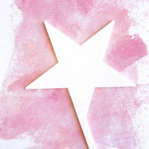 Five Point Star DIY Cake Topper